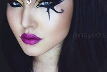 Witch Makeup Inspiration / A board to inspire us for the makeup looks for our many shows during the year.