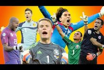 Soccer's best saves / Brilliant saves