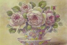 Tazas florales y otras