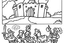 Teema: kuninkaalliset ja ritarit