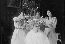 Blast from the Past / Amazing hair and cosmetology images plus DIY's from day's gone by!