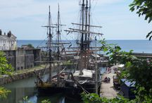 DAY TRIPS - ST. AUSTELL / Including Charlestown Harbour, Phoebe's Point, Par.  About 56 miles (1hr 20m) from us.