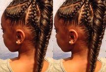 African Girl Hair