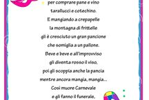 Filastrocca carnevale / Carnevale