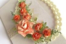 Cards ~ Handmade flowers