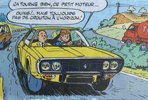 Piirretyt ranskalaiset autot / Piirretyt/sarjakuvat