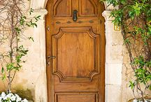 Beautiful Old Doors / I love old doors, whether they are front doors, old porches or old garden doors leading to an undiscovered place, like the Secret Garden, one of my favourite childhood books