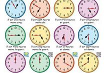 L'heure / Telling the Time / Resources for teaching how to tell the time in French.