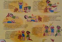 Děti cvičení