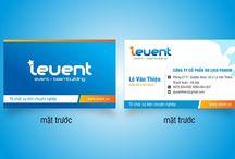 Thiết kế Name Card công ty tổ chức sự kiện