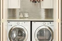 Laundry room ideas  / by Ashley Burgos