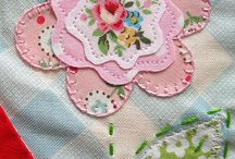 applique flower