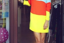 COLOR BLOCKING STYLES / by Carla Harris