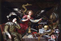 BARROCO / 1625-1725 1.ORNAMENTACIÓN DE ACANTO 2.ICONOGRAFÍA: EMOCIONES, NUEVOS GÉNEROS - TENEBRISMO Y CLIMAX - LUZ SUBLIME