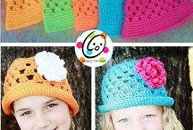 Crochet hats-headbands