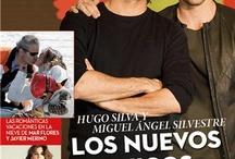 Miguel Ángel Silvestre y Hugo Silva, portada del número 333 de 'Hoy Corazón'