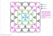 DIAGRAMAS DE CROCHET / Diagramas completamente en español con instrucciones claras y precisas para realizar distintos tejidos a crochet o ganchillo.