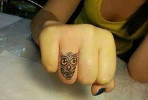 Tatuagens Para Os Dedos