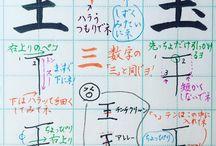 漢字・書き文字
