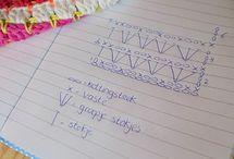 Haakwerkjes/haakpatronen / Hierbij alles rondom haakwerkjes / by Paula van Dulmen