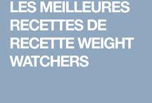 Recettes weight wetcher