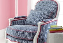 Louis Chair Reupholstery Project