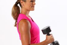 Dumbells and kettle bells / by Kat