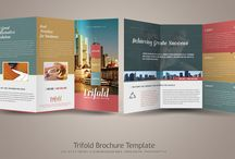 Tri-Fold Leaflets / Ubiquitous and cheap, the tri-fold leaflet is a marketing workhorse. Here's a selection of designs I like. / by Andrew Ley