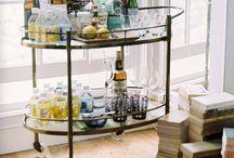 Potables - bars and bar carts / by Merrell Banks