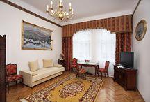 Apartament Książęcy III / Apartament Książęcy III w centrum Krakowa, Kraków ul. Starowiślna 41.
