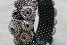 tocados y joyas textiles