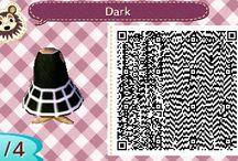 Animal Crossing New Leaf QR Code / Viele Designs von mir für euch