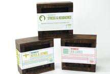 Metsä samples mood board / Mood board for packaging samples