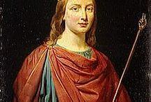 Clovis IV (680 +695) Roi des Francs (691-695) / Roi des Francs (691-695) Préd: Thierry III, succ Childebert IV (frère). - Mérovingien né vers 680, décès 695. Parents: THIERRY III et CLOTILDE.