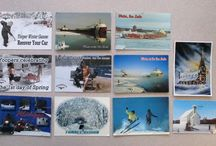 Michigan Postcards - 2015 Grant Contest / Countless Michiganders sent in Michigan picture postcards to vote in the #DigMichNews annual Michigan Digital Newspaper Grant Contest. Some were handmade, some were printed, but all of them celebrated #PureMichigan.