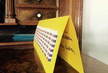 50ster Geburtstag für Sonnenkinder / Meine schönste Geburtstagskarte. Danke Maria & Markus