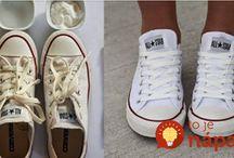čistenie topánok