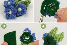 Moños crochet
