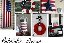 Patriotic Decor & Party
