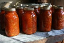 CANNING & PRESERVING FOOD / by Susan Wincapaw-Bayton