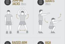 Floor HIIT exercises