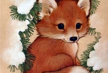 Foxes / Cute fox doodles, fox drawings, fox photography and everything foxed:D