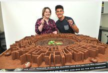 Maze runner cakes