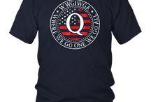 Qanon WWG1WGA - Political Conspiracy T-Shirt