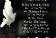 happy bday in heaven