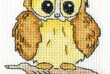 Cross stitch animal