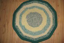 Crochet mats, computer gloves ect