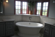 Country Elegance in Doylestown, PA / This bathroom renovation in Doylestown, PA was completed recently by Lang's Kitchen and Bath of Bucks County.  The bathroom renovation transformed the style of the room, giving it a modern take on a primitive country style.