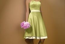 Bridesmade dress.
