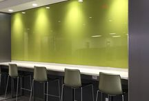 To Green or Not to Green? / Bendheim embraces Greenery: Pantone's 2017 Color of the year. This vibrant color is available in several glass varieties, such as laminated architectural glass and textured back-painted glass.